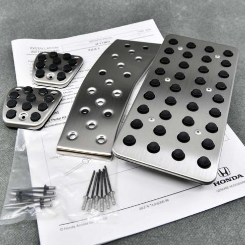08U74-TL0-600, 08U74TL0600 OEM aluminiowe nakładki pedałów Honda Accord 8gen 08-15 manual