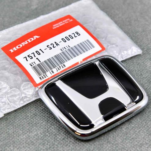 "75701-S2A-000ZB, 75701S2A000ZB OEM czarny emblemat ""H"" 73x60mm Honda S2000"
