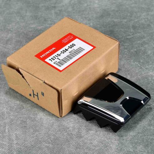 "75710-S04-G00, 75710S04G00 OEM czarny emblemat ""H"" Civic 6gen 96-98"