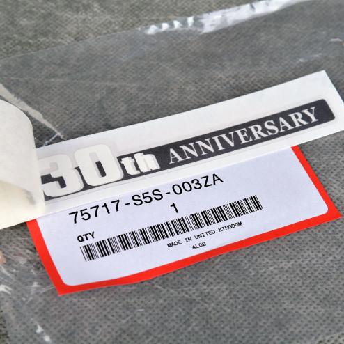 OEM naklejka 30th anniversary EP3 Civic 7gen TypeR 03