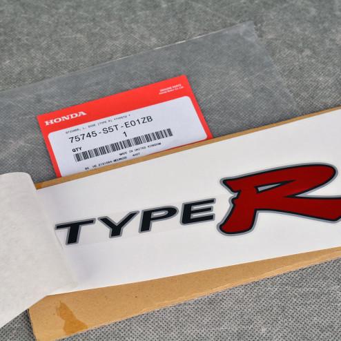 OEM naklejka TypeR lewa EP3 Civic 7gen 01-05