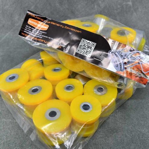 Deuter zestaw poliuretanów Honda Accord 7gen 03-08 żółty
