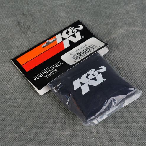 K&N hydroshield drycharger czarny