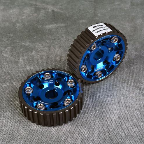 VMS regulowane kółka rozrządu B seria niebieskie