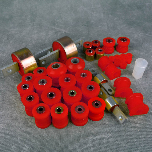 Deuter zestaw poliuretanów Civic 5gen 92-95 EG6 czerwony