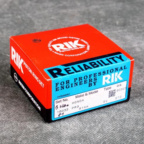 RIK pierścienie tłokowe B16 B18 81mm RIK16033