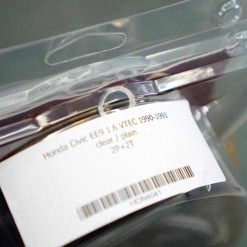 HEL przewody hamulcowe w oplocie Civic 4gen 89-91 EE9 B16