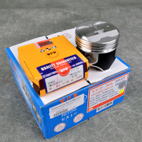 YCP Tłoki P29 75,5mm D seria SOHC D16Z6, D16Y8