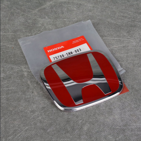 "OEM czerwony emblemat ""H"" 113x92mm"