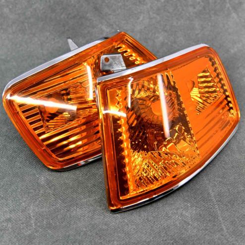 Obrysówki / postoje przednie Amber CRX 2gen 90-91