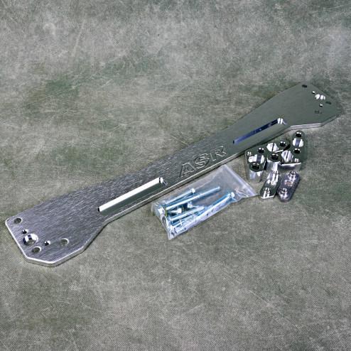 ASR Style MP-ZW-003 Subframe Brace rozpórka Honda Civic 6gen 96-00 srebrna