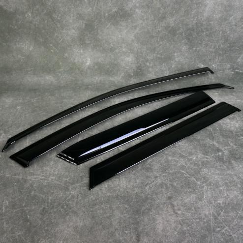 OEM owiewki szyb bocznych Accord 8gen 08-15 Tourer 08R04-TL4-600, 08R04TL4600