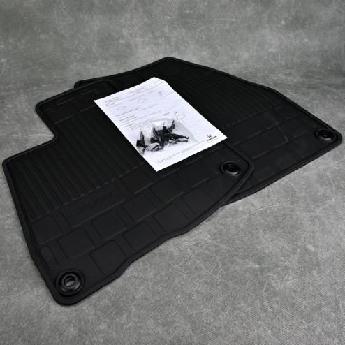 OEM dywaniki gumowe przednie Honda Civic 8gen TypeR FN2 06-11 08P18-SMG-613, 08P18SMG613