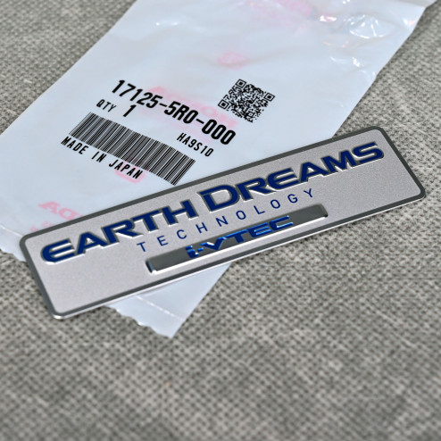 OEM Honda emblemat Earth Dreams Technology i-VTEC 100x27 mm 17125-5R0-000, 171255R0000