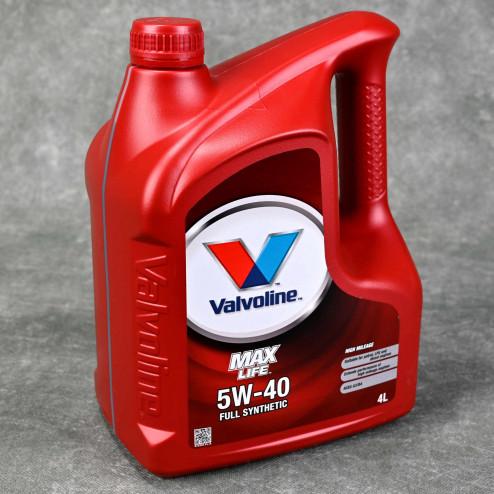 Olej silnikowy Valvoline MaxLife 5W40 4L