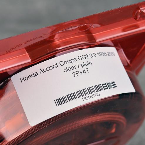 HEL przewody hamulcowe w oplocie Accord Coupe CG2 3.0