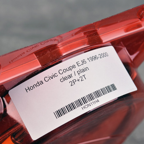 HEL przewody hamulcowe w oplocie Civic 6gen 96-00 EJ6