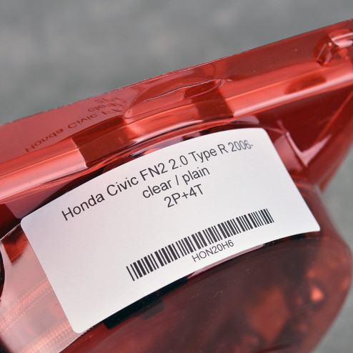 HEL przewody hamulcowe w oplocie Civic FN2 8gen TypeR