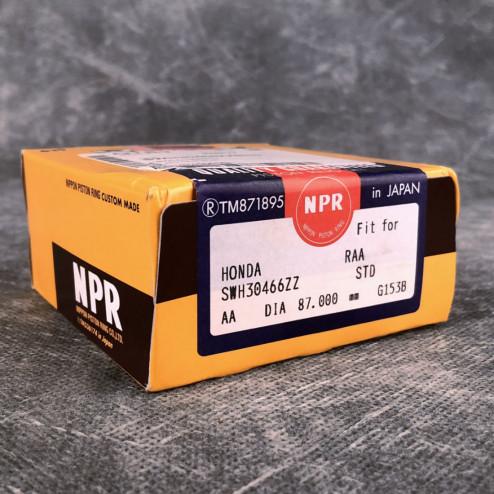 NPR Pierścienie tłokowe K24Z3 87mm nominał Honda Accord 8gen 08-15 SWH30466ZZ