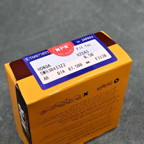 SWH30433ZZ050 NPR Pierścienie tłokowe H22 nadwymiar 87,5mm H22A4, H22A5, H22A7