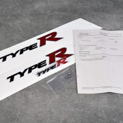 OEM emblemat TypeR grill FN2 i błotniki