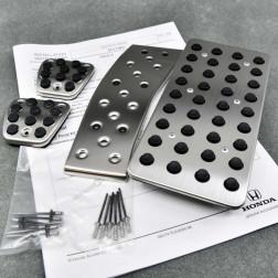 OEM aluminiowe nakładki pedałów Accord 8gen 08-15 manual