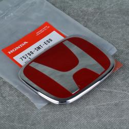 """OEM czerwony emblemat """"H"""" 98x80mm Civic 8gen 07-11"""