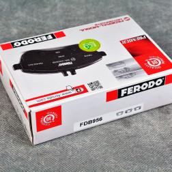 Ferodo klocki hamulcowe 260mm Prelude, Civic, tył