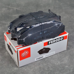 Ferodo klocki hamulcowe 282mm Prelude, Integra przód