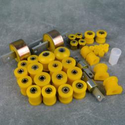 Deuter zestaw poliuretanów Civic 5gen 92-95 EG6 żółty
