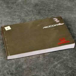 OEM instrukcja obsługi Accord 6gen