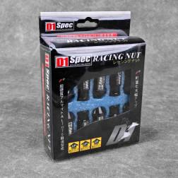 Nakrętki D1 Spec Style 20szt. 12x1.5 czarne