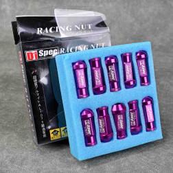 Nakrętki D1 Spec Style 20szt. 12x1.5 purpurowe