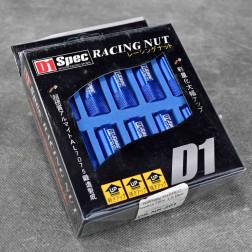 Nakrętki D1 Spec Style HEX 20szt. 12x1.5 niebieskie