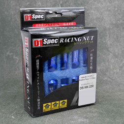 Nakrętki D1 Spec Style 20szt. 12x1.5 niebieskie