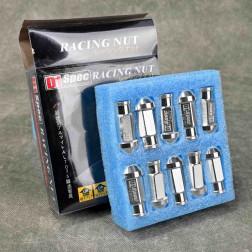 Nakrętki D1 Spec Style 20szt. 12x1.5 srebrne