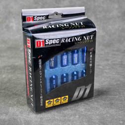 Nakrętki D1 Spec Style EW 20szt. 12x1.5 niebieskie