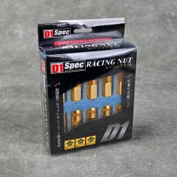 Nakrętki D1 Spec Style EW 20szt. 12x1.5 złote