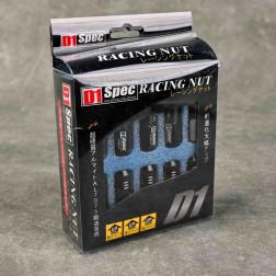 Nakrętki D1 Spec Style EW 20szt. 12x1.5 czarne