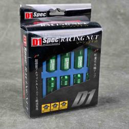 Nakrętki D1 Spec Style EW 20szt. 12x1.5 zielone