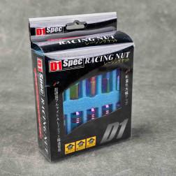 Nakrętki D1 Spec Style EW 20szt. 12x1.5 neochrome
