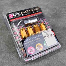 Nakrętki D1 Spec Style 40mm 20szt. 12x1.5 złote