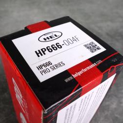HEL HP660 klocki hamulcowe 262mm Civic, CRX, przód
