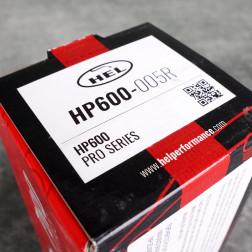 HEL HP600 klocki hamulcowe 242mm Civic, CRX, tył