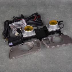 Halogeny żółte Civic 5gen 92-95 HB/Coupe