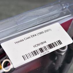 HEL przewody hamulcowe w oplocie Civic 6gen 96-00 EK4 B16