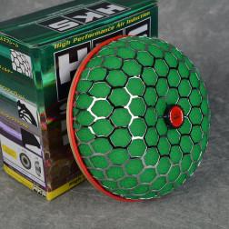 Filtr powietrza HKS style 'grzybek' zielony 80mm