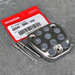 OEM aluminiowa nakładka pedału sprzęgła hamulca Civic 8gen 06-11