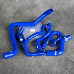 Turbo Works węże chłodnicy Civic 6gen B16 B18 niebieskie