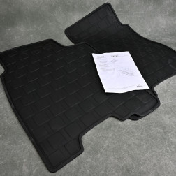OEM dywaniki gumowe tylne Civic 8gen TypeR FN2 06-11